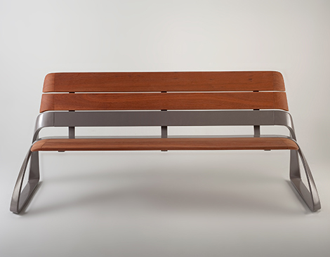 Elegant Urban Bench Design By Bmw Designworks