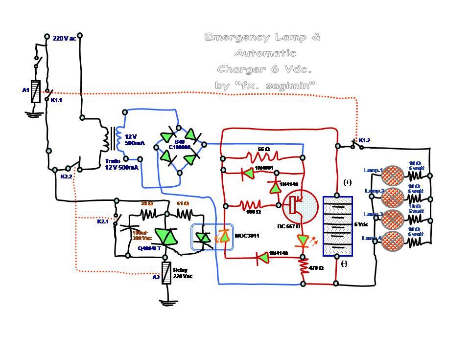 ... 77 kB · jpeg, Rangkaian Emergency lampu 12 Volt LED Automatic charger