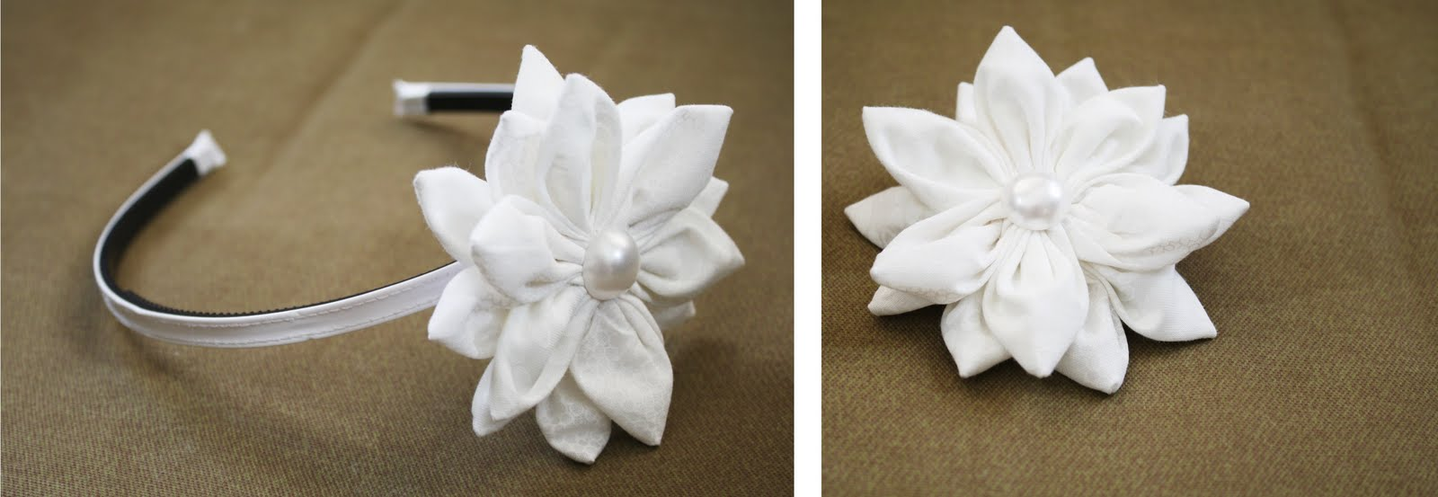 Bayberry Creek Crafter Fabric Flower Tutorial
