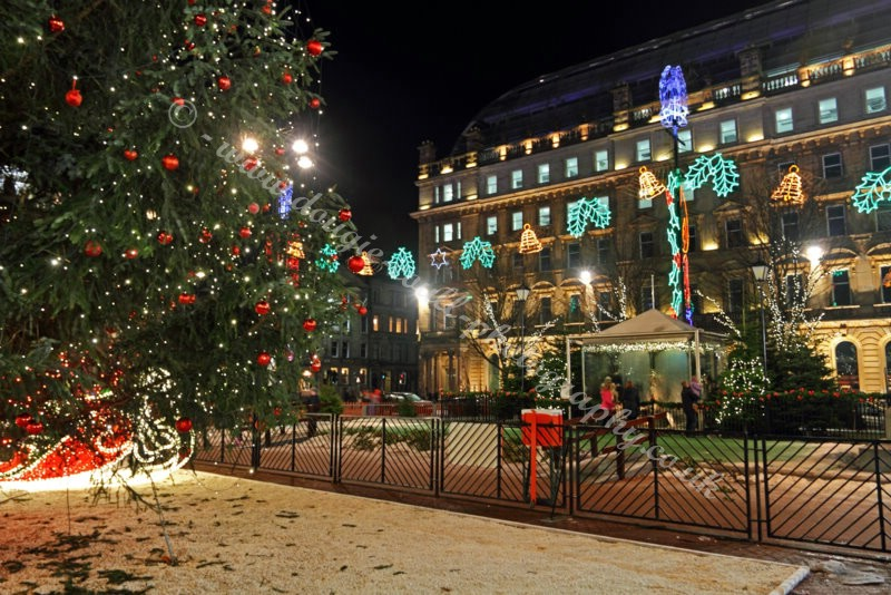 Dougie Coull Photography: Glasgow Christmas Lights - George Square