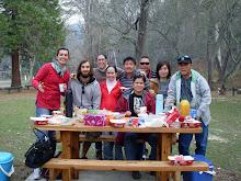 Buchan Cave avec Sato et la famille