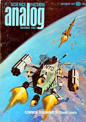 An Orbital Missile Fight (Analog cover, 1972)
