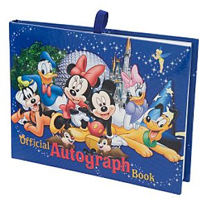 Where To Get Autograph Books For Disney