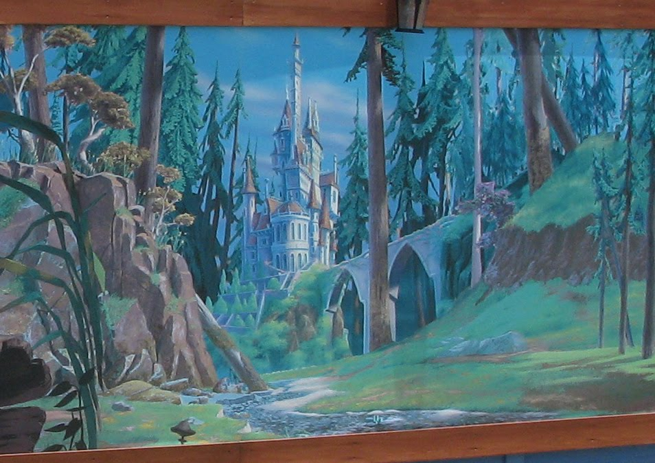 Magic kingdom fantasyland construction update be our for Disney world mural
