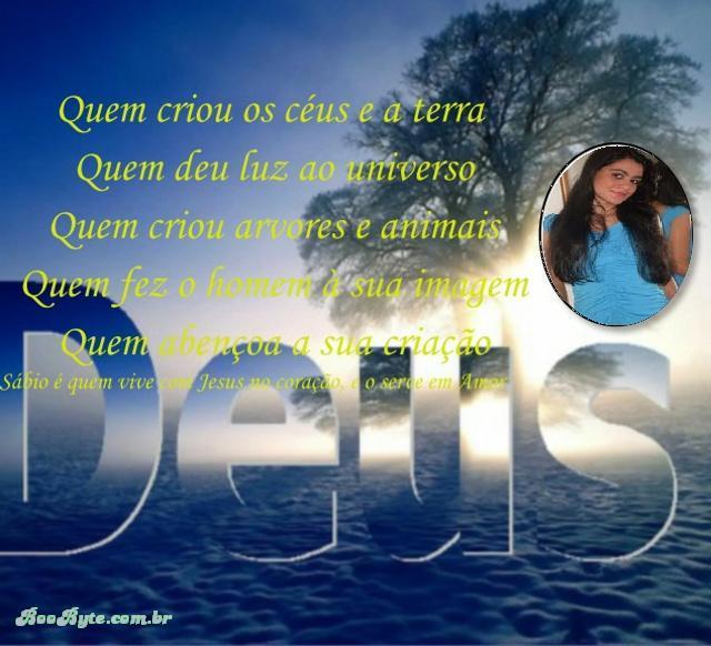 veras a gloria de Deus