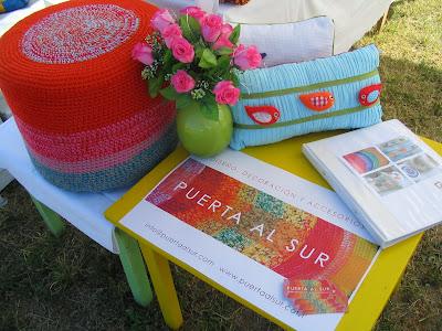 Puf almohadon - Fotos de la Feria