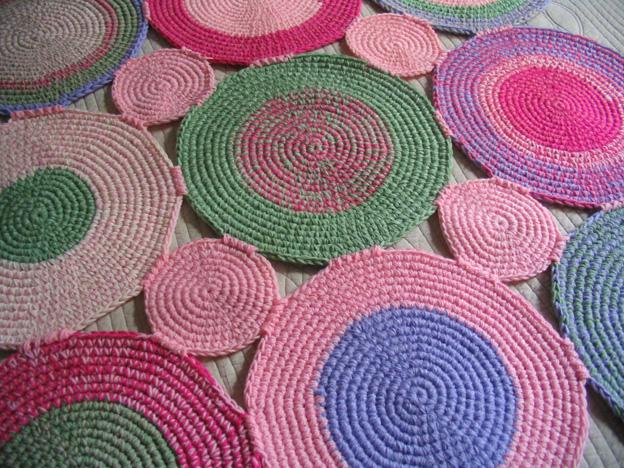 Puerta al sur alfombras circulares la nueva tendencia - Alfombras redondas ...
