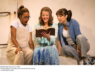 Mama Mia! girls reading the Mother's diary filled with hersexual explorations one summer ...