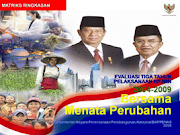Evaluasi Tiga Tahun RPJMN 2004-2009