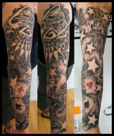 Tattoos Sleeves on Sleeve Tattoo Christian Religious Sleeves Tattoo Designs