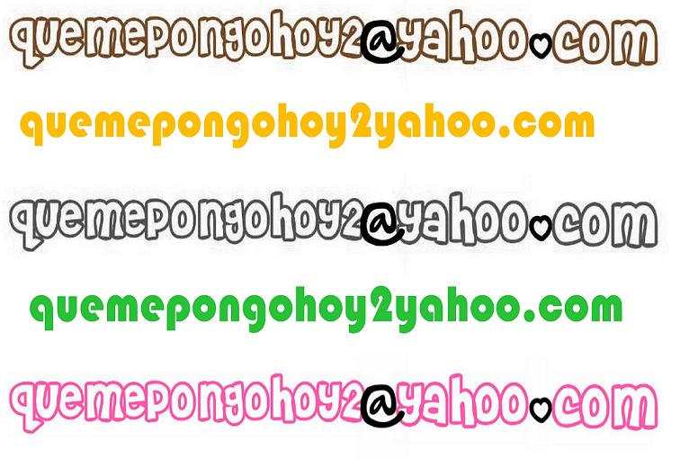 quemepongohoy2@yahoo.com