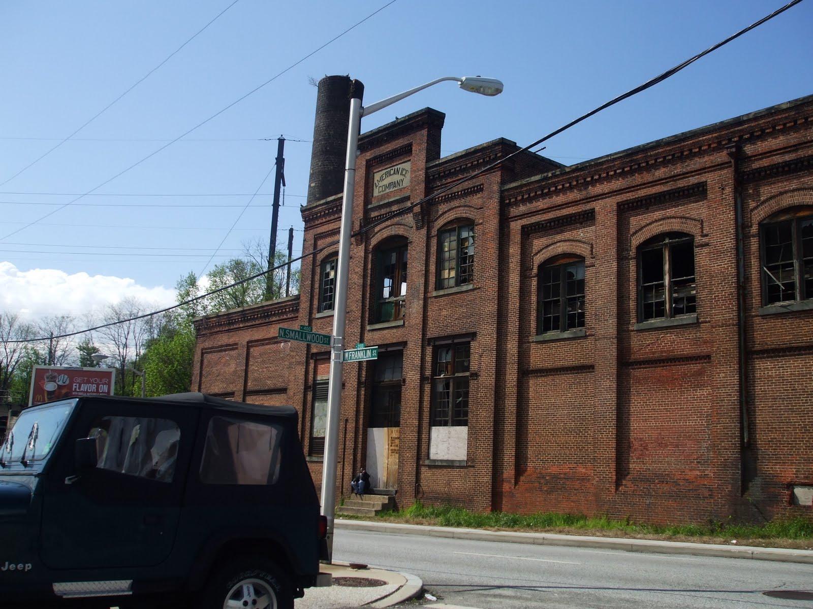 Baltimore Citys Past Present and Future November