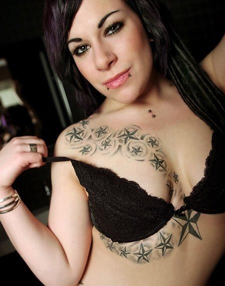 Sexy Star Tattoos