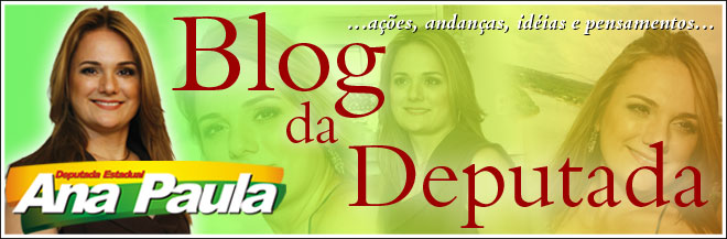 Deputada Ana Paula