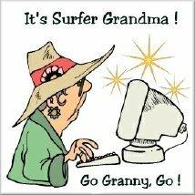 Surfer Grandma
