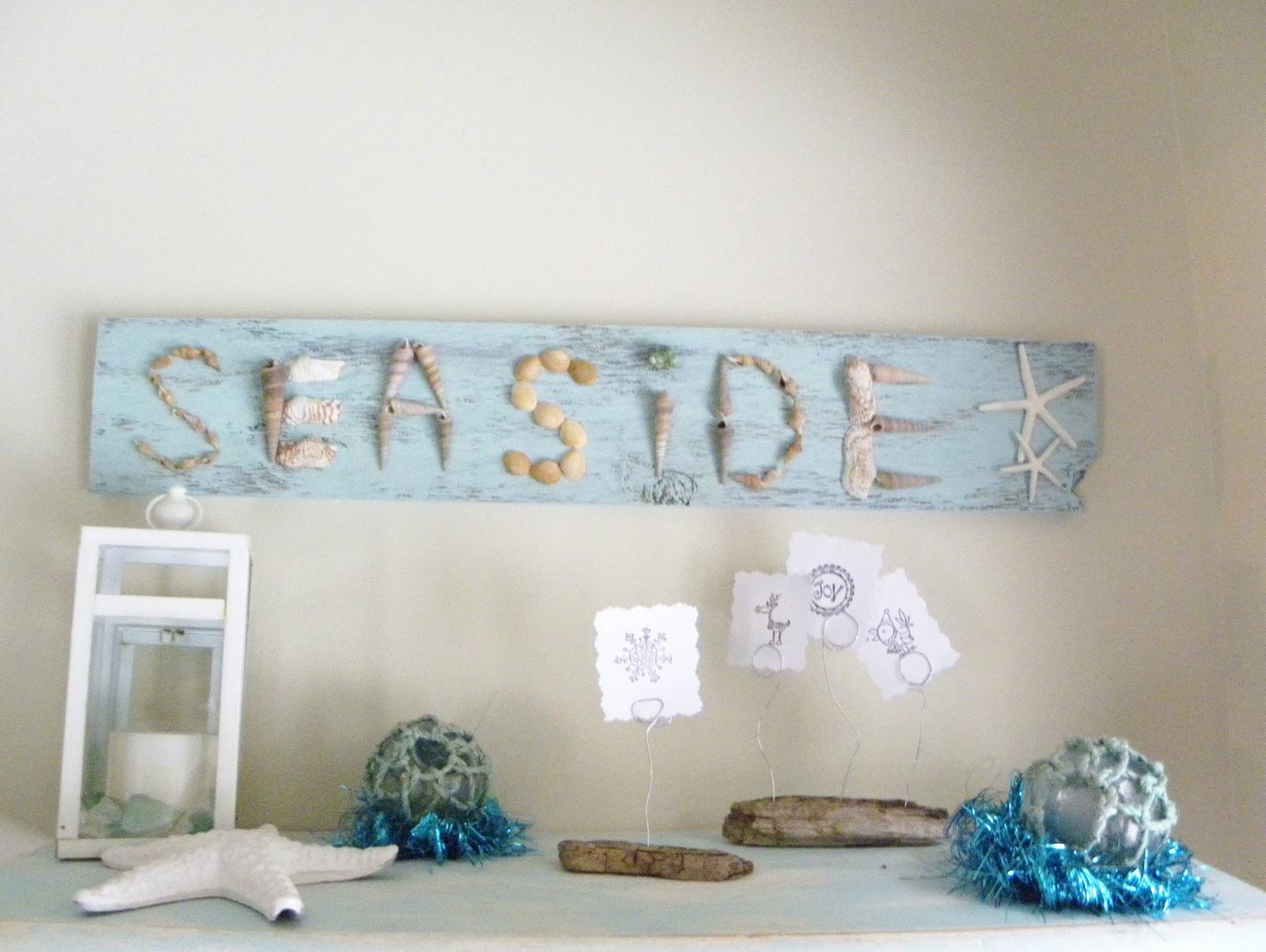 Simple daisy driftwood craft a creative life for How to make driftwood crafts