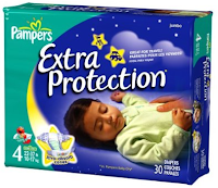 Diaper Review: Pampers Baby Dry Overnight Extra Protection ...