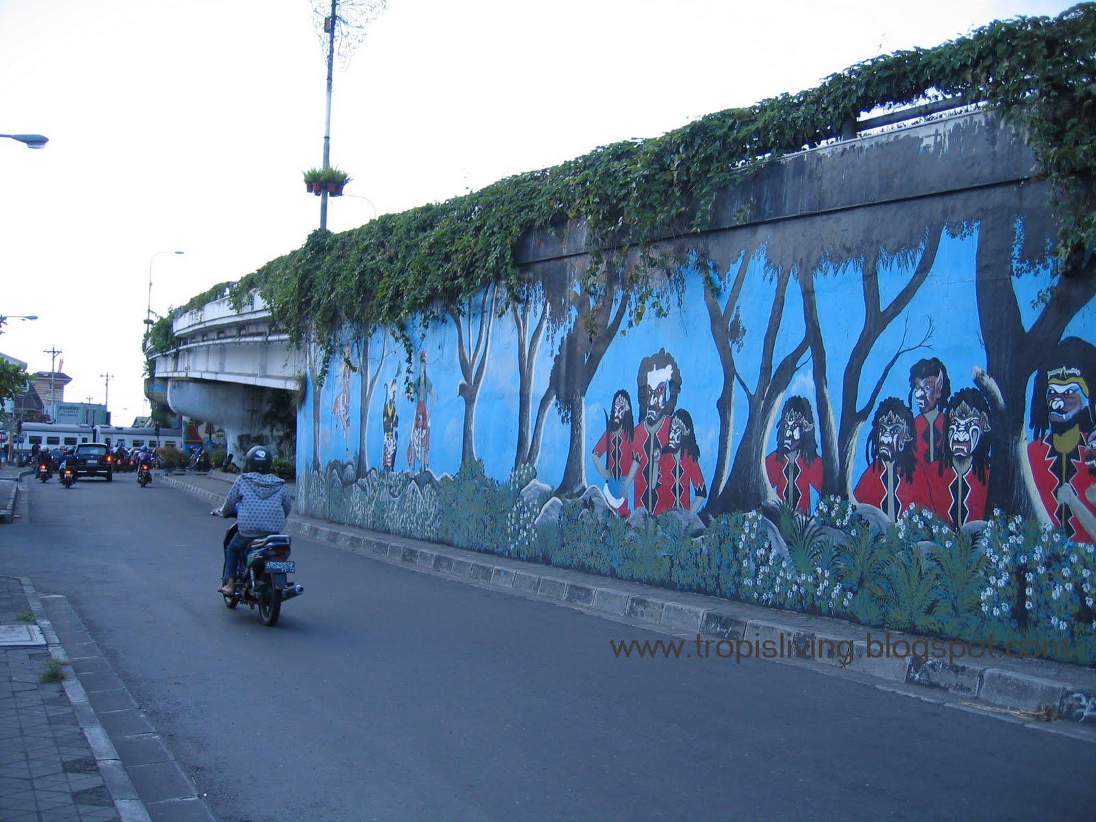 mural jogja uniquely indonesia