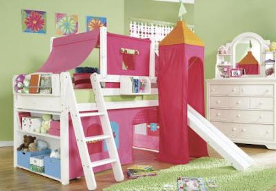 Puras cosas lindas descanso y diversion - Habitaciones infantiles ninas ...