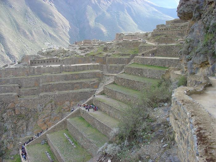 Ollantaytambo: base Inca durante a guerra contra os Espanhóis
