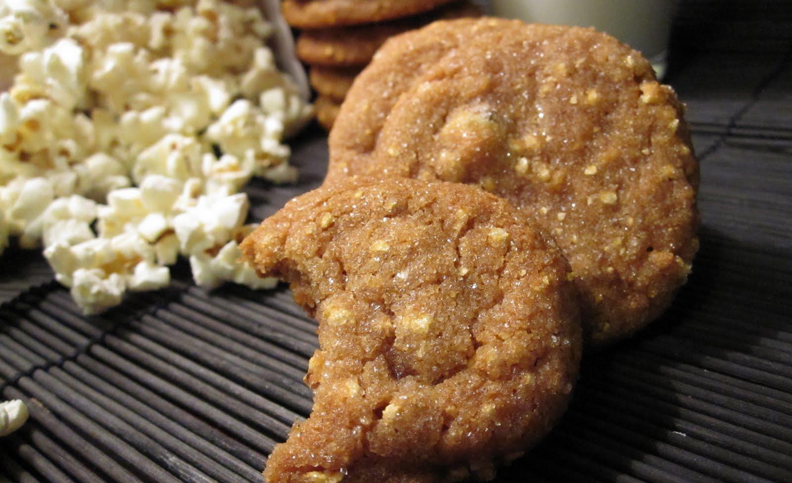 Caramel Popcorn Cookies | balance