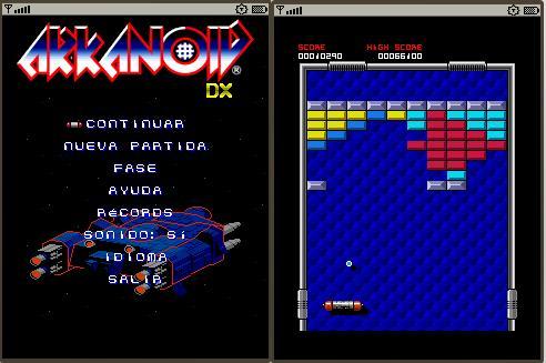25 videojuegos míticos en Flash 816348arkanoid