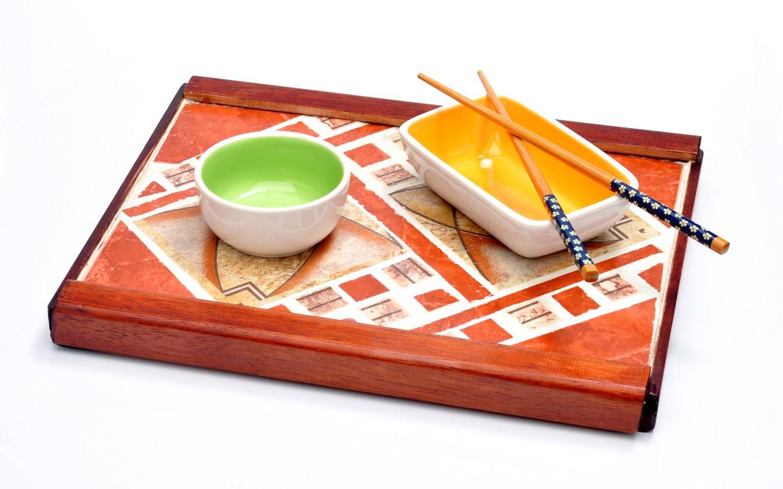 Arl mosaicos bandeja rectangular para sushi - Bandejas para sushi ...