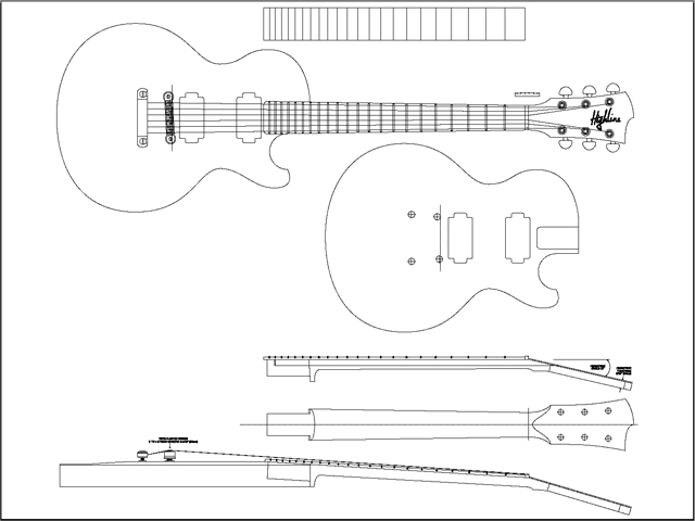 11 Free Guitar Plans, 20 Guitar Building Jigs and 35 More