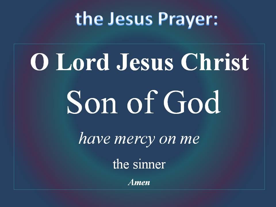Lord Jesus Christ Prayers