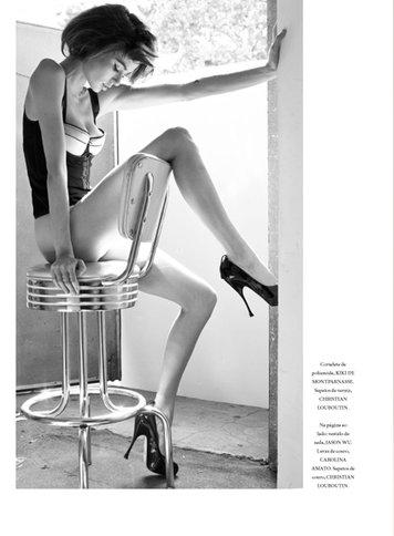 nicole trunfio vogue australia february 2010. Nicole Trunfio - L#39;Officiel