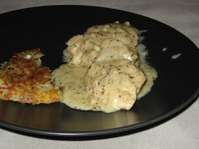 chicken with basil riesling cream sauce 4 boneless skinless chicken