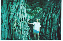 Darlene in Front of the Trees