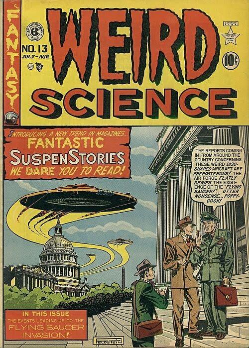 Image Ec Comics Weird Science Download