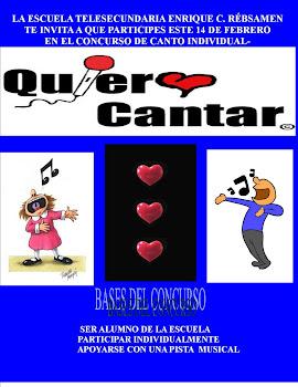 CONVOCATORIA DE CANTO