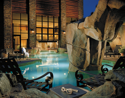Enjoy the spa at the Four Seasons Residence Club in Jackson Hole on your summer vacation to Jackson Hole, Wyoming.