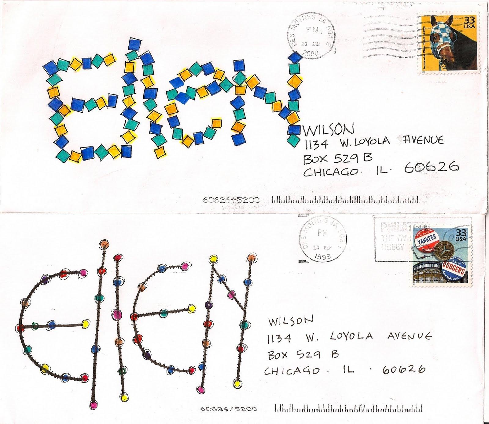 Pushing The Envelopes April 2010
