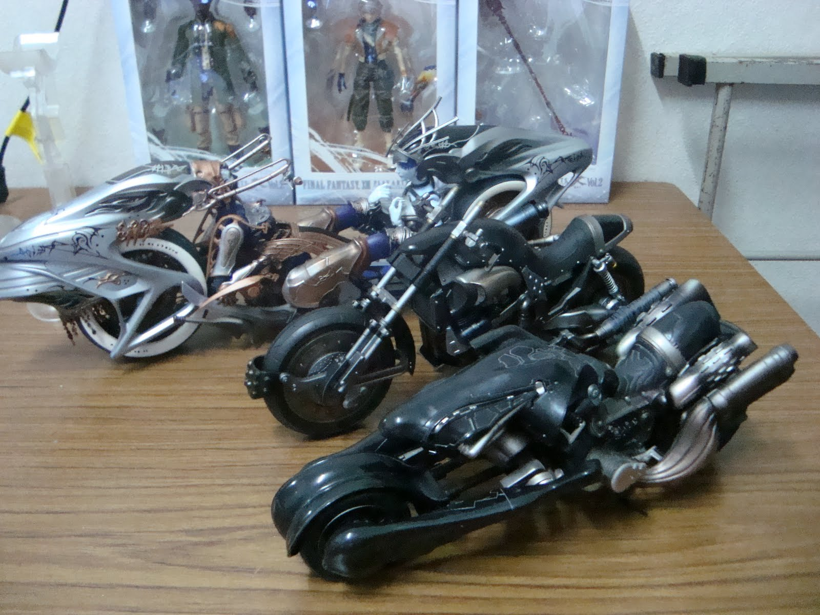Confessions Of A Toy Addict Ffxiii Shiva Motorcycle