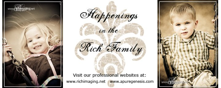 Happenings in the Rich Family