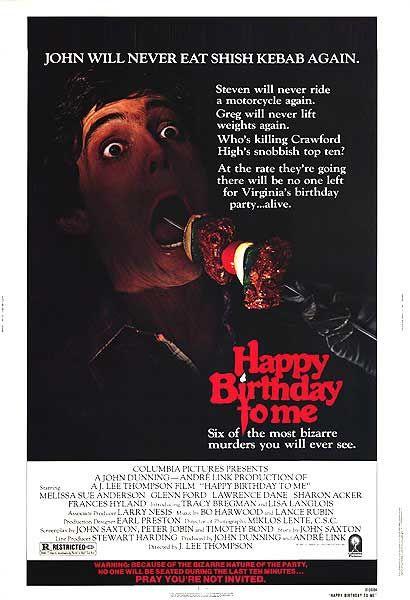 Happy Birthday to Me (Film) - TV Tropes
