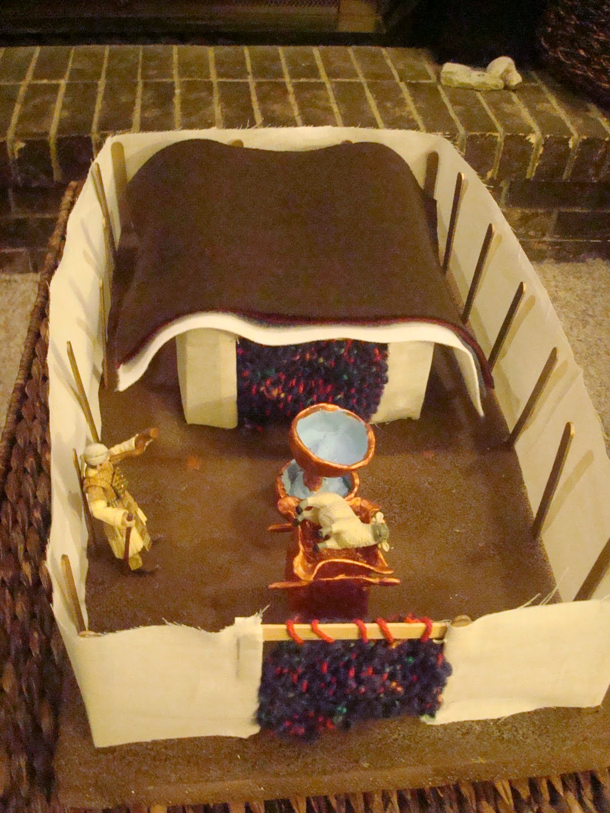 Journeying With Joy How We Made Our Model Of The Tabernacle