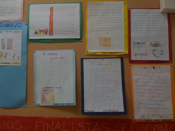 Estos son los trabajos ganadores y finalistas del concurso de redacción y dibujo.