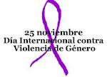 25 de Noviembre. Día Internacional contra la violencia de género.