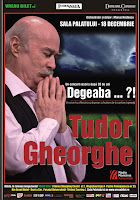 """TUDOR GHEORGHE – """"Degeaba...?!"""" - Sala Palatului - 18 Decembrie"""