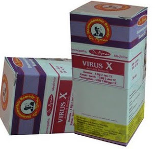 VIRUS X.H1N1 ANTIDOTE
