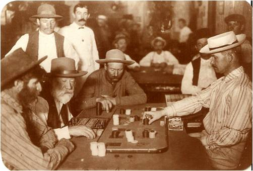 Buddies In The Saddle Old West Saloons