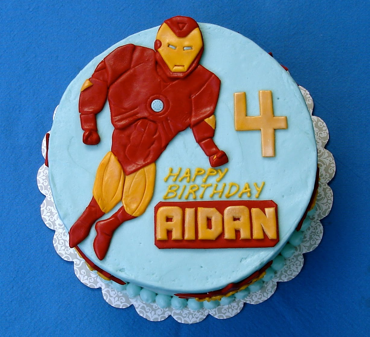 Images Of Iron Man Birthday Cakes : Susana s Cakes: Iron Man Birthday Cake