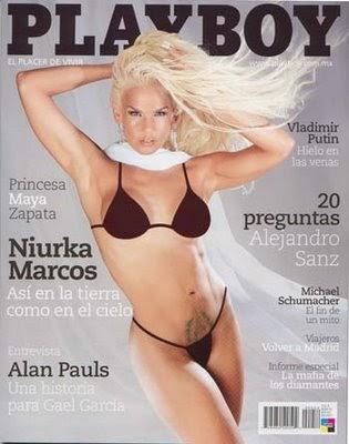 Playboy Niurka marcos desnuda