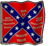 18th Louisiana Infantry Flag