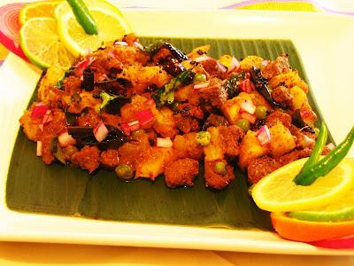 how to cook tapioca root kerala style