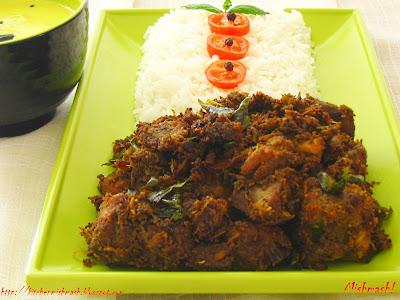 Chicken Roast - Kuttanadan Style